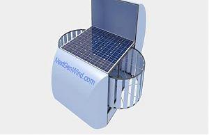 Прототип ветро-солнечной энергетической установки
