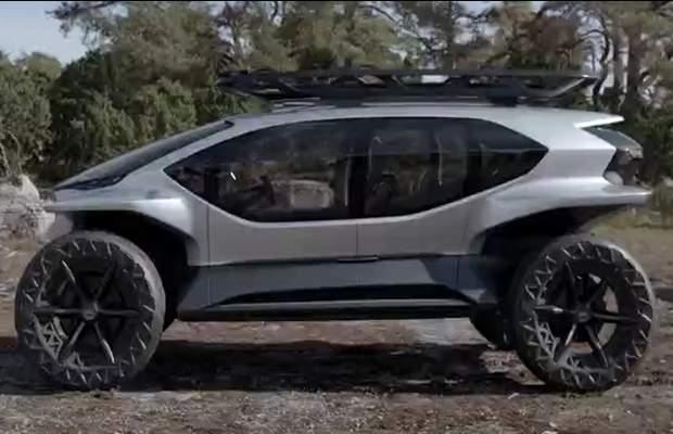 Концепт-кар Audi AI:TRAIL quattro электрический внедорожник будущего