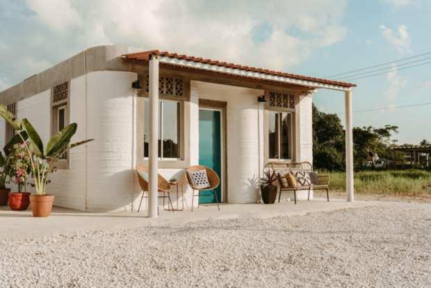 Мексиканские дома 3D-печатный дом