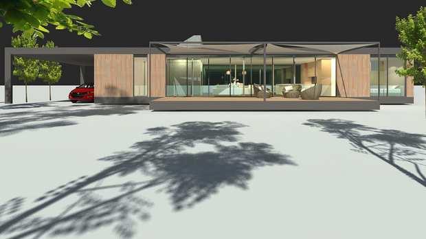 Дом из конопли австралийской компании Mirreco