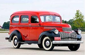 Chevrolet Suburban 1940 года