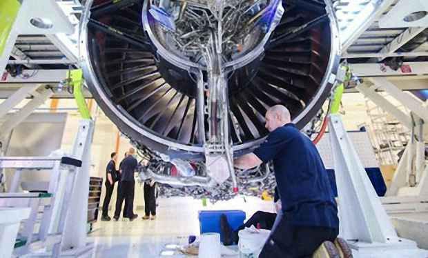 Мощность двигателя Trent XWB 50 тысяч лошадиных сил