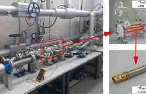 Термоэлектрический генератор в трубе