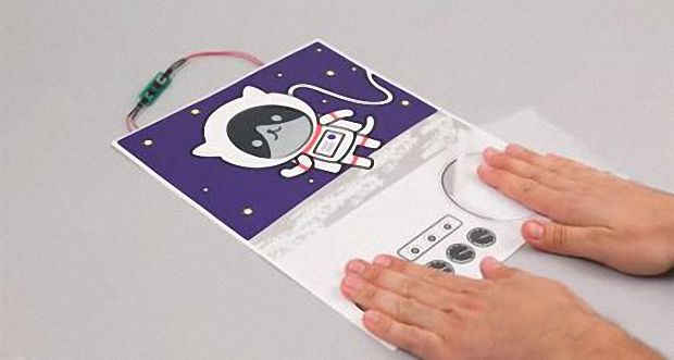 Бумажный генератор для питания портативных электроустройств