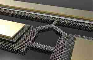 Нанопроводник в три атома