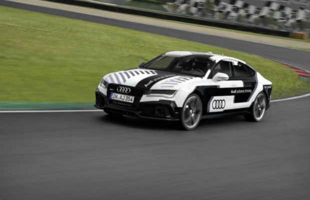 Беспилотный автомобиль Audi RS 7 Sportback