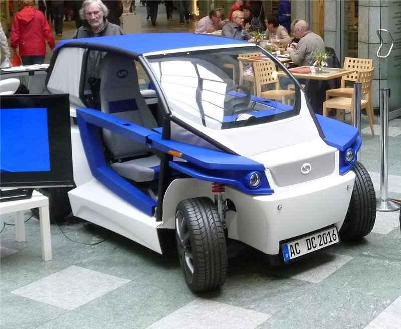 Автомобиль С16 на международной выставке EuroMold во Франкфурте