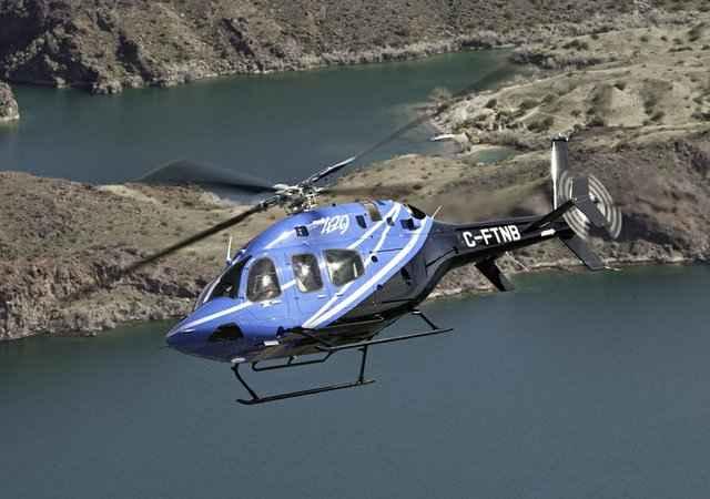 Вертолет компании Bell Helicopters