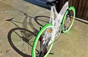 Велосипедная рама энтузиаста 3D-принтинга Джеймса Новака