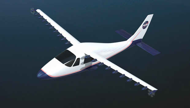 Электросамолет с улучшенной версией крыла LEAPTech