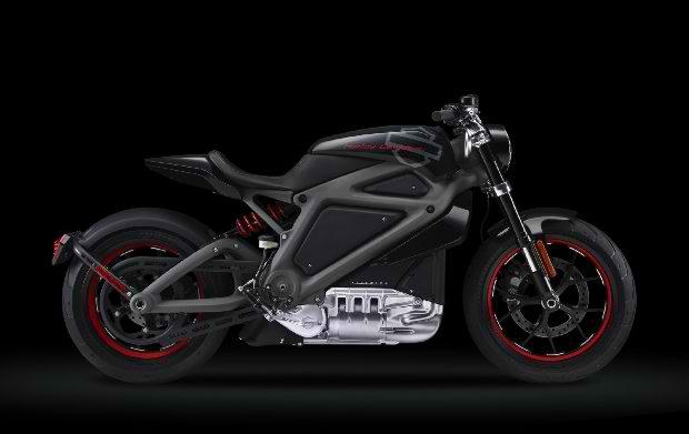 Электромотоцикл Harley-Davidson