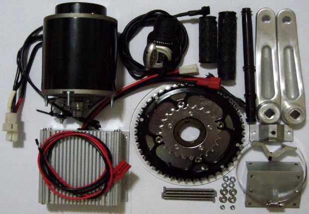 Набор для электровелосипеда с цепным приводом