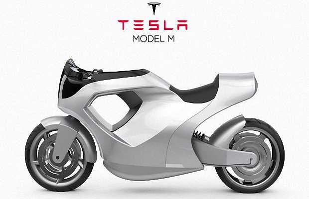 Электромотоцикл Tesla Model M