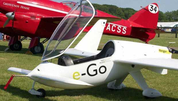 Одноместный самолет e-Go