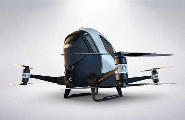 Беспилотный вертолет летающее такси