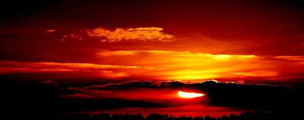 Солнечный закат