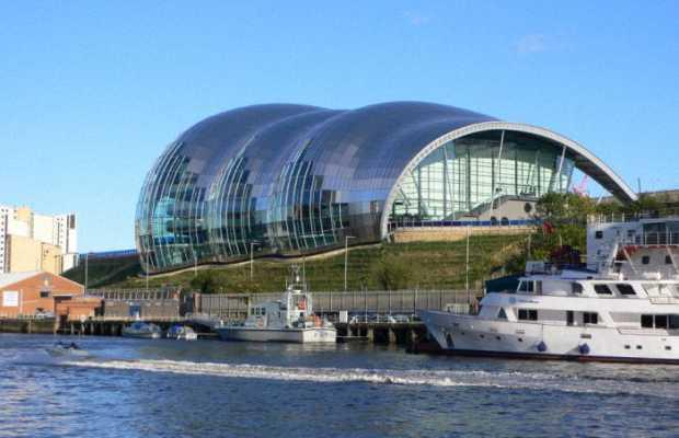Необычный концертный зал The Sage Gateshead
