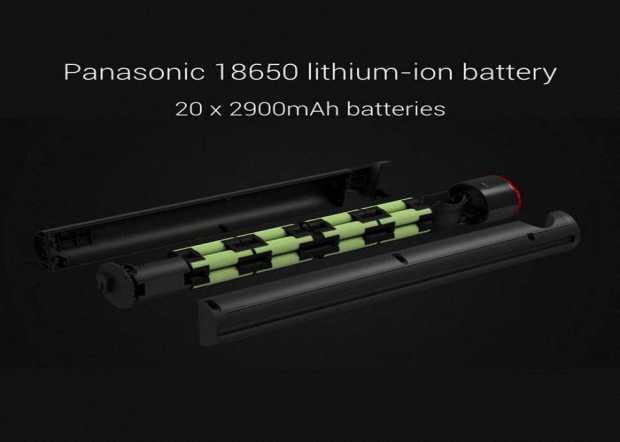 Аккумуляторная батарея Panasonic 18650 емкостью 2900 мА•ч