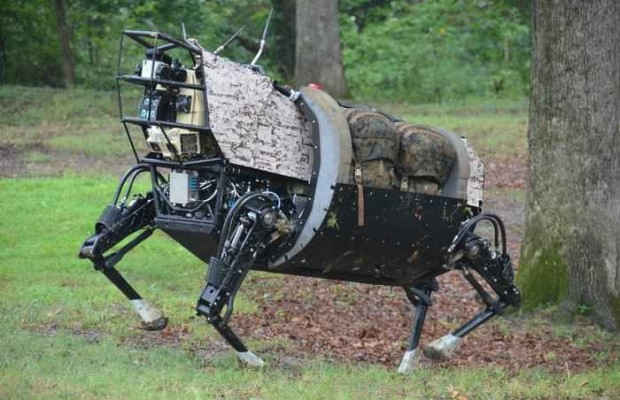 Робот BigDog