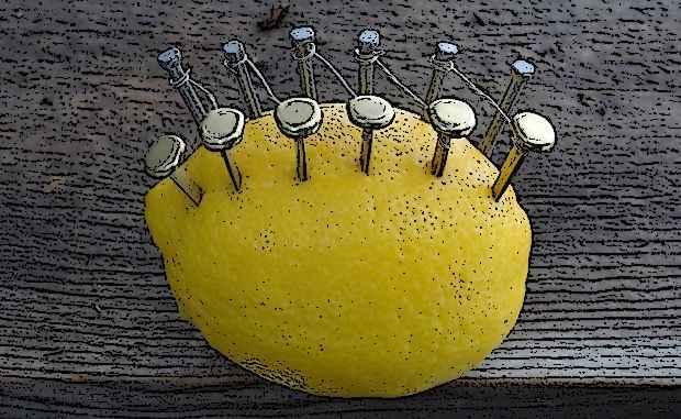 Лимон вырабатывает электричество