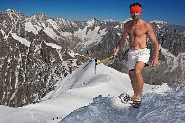 Вим Хоф (Wim Hof) - Ледяной человек