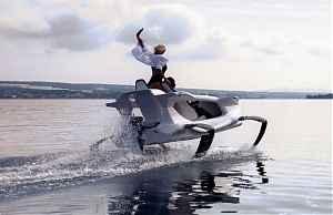 Гидроцикл на подводных крыльях Quadrofoil Q2