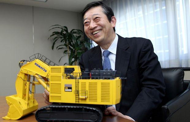 Президент и главный исполнительный директор компании Komatsu Limited Тэцудзи Охаси (Tetsuji Ohashi)