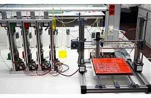 Прототип 3D-биопринтера воспроизводящего функциональную человеческую кожу