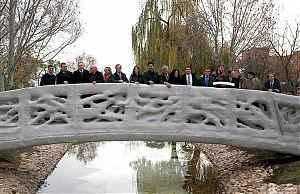Первый в мире пешеходный мост, напечатанный на 3D-принтере