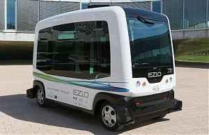 Нидерландский беспилотный автобус WePod