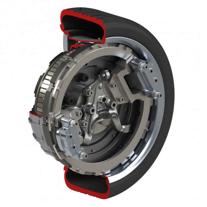 Мотор-колесо от Protean Electric