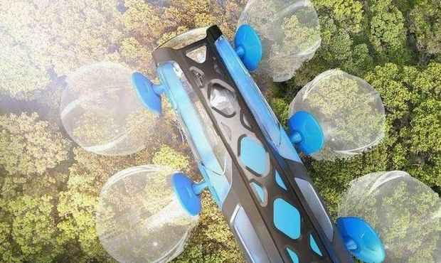 Машина дендроход для прогулок по верхушкам деревьев