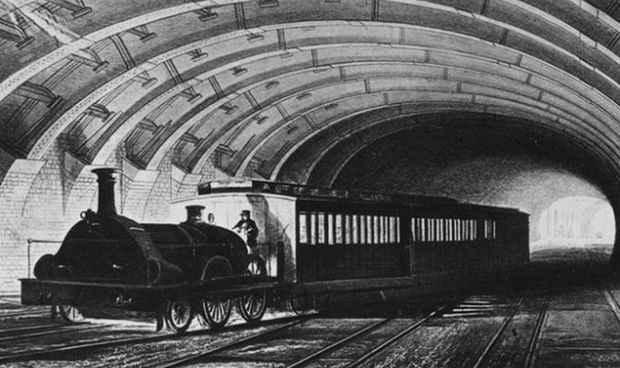 Старое лондонское метро