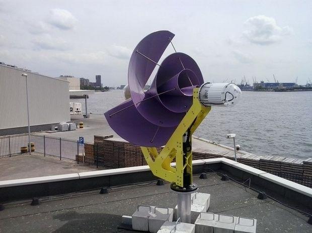 Ветрогенератор Liam F1 эффективен даже при малой скорости ветра