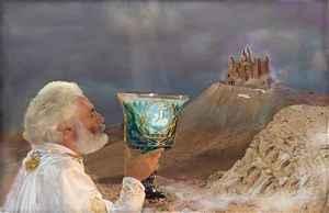 Святой Грааль - чаша из цельного изумруда