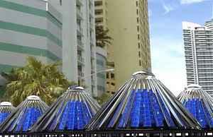 Вращающиеся солнечные батареи Spin Cells