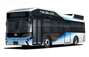 Водородный автобус Toyota FC Bus