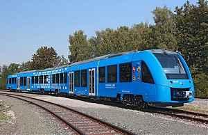 Пассажирский поезд на водородных топливных элементах