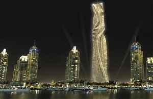 Вращающийся небоскреб Dynamic Tower