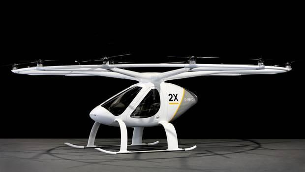 18-роторный Volocopter 2X