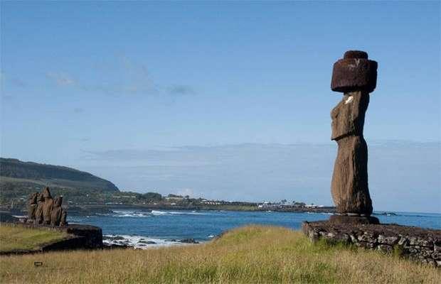 Статуи моаи острова Пасхи
