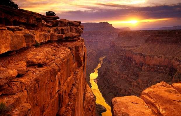 Гранд каньон – один из глубочайших каньонов мира