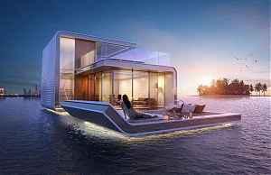 Плавающий дом в Дубае