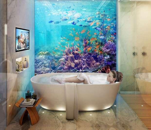 Подводная ванная