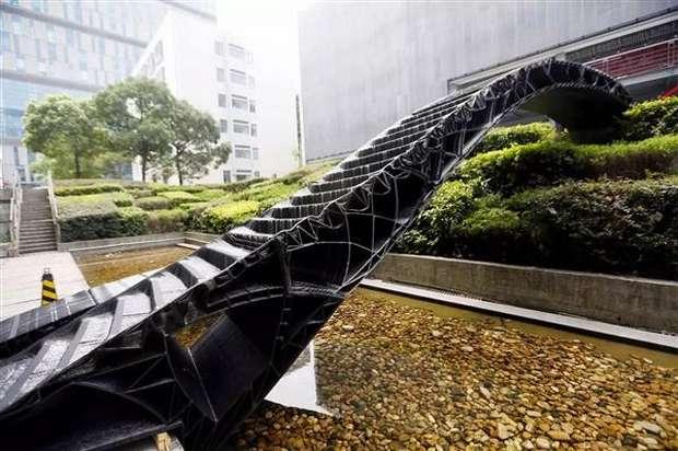 Мост со ступенями