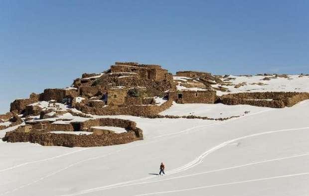 В Марокко есть снег