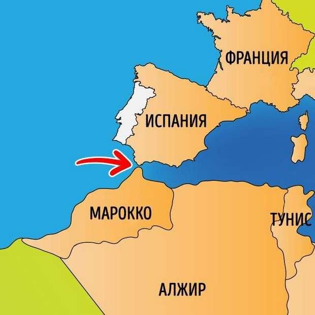 Марокко рядом с Европой