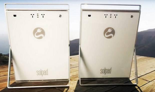 Два модуля SolPad
