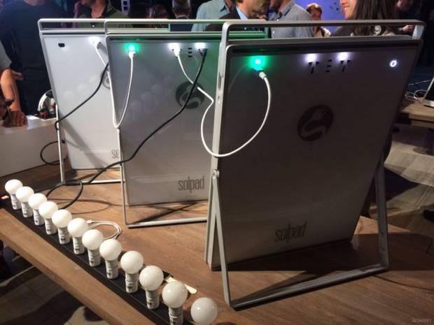 Демонстрация возможностей SolPad