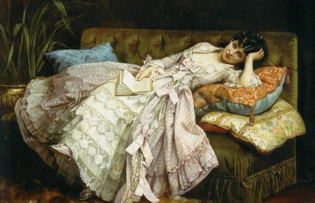 Картина маслом Auguste Toulmouche Dolce Far Niente